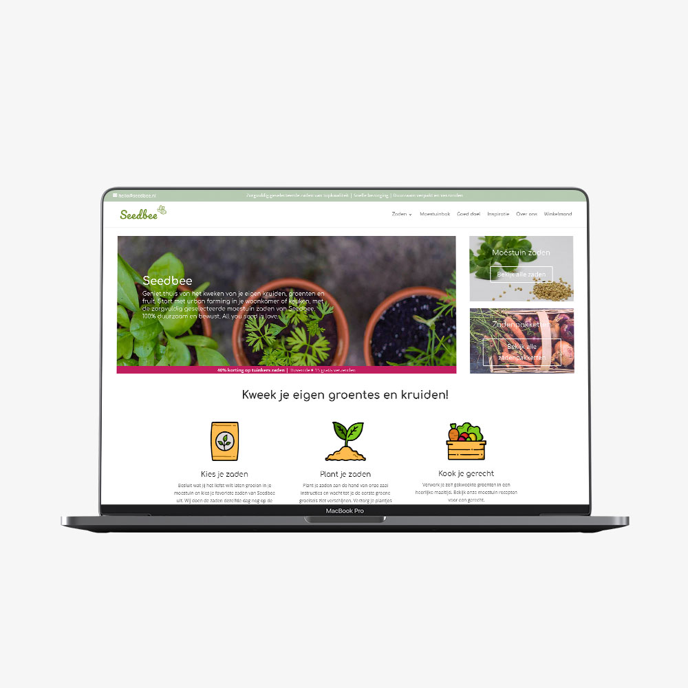 Seedbee website