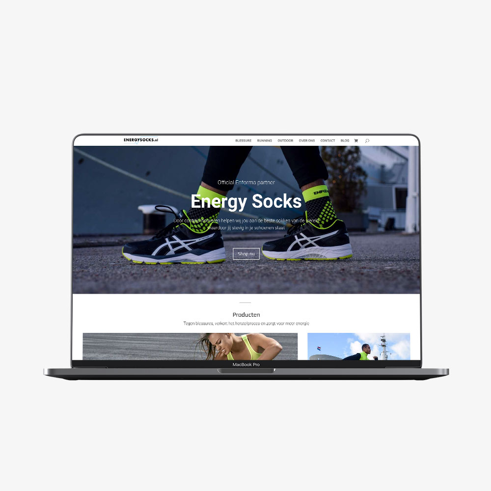 Energysocks website